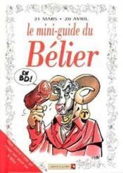 Les mini-guides en bd t.5 ; le mini-guide astro du bélier - Couverture - Format classique