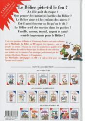 Les mini-guides en bd t.5 ; le mini-guide astro du bélier - 4ème de couverture - Format classique