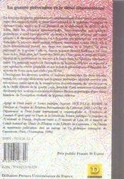 La guerre préventive et le droit international - 4ème de couverture - Format classique