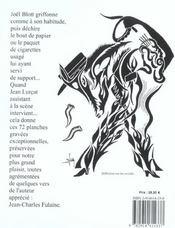 Écriture ; en noir et blanc - 4ème de couverture - Format classique