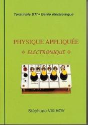 Physique appliquée ; électronique - Couverture - Format classique