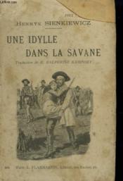 Une Idylle Dans La Savane. - Couverture - Format classique