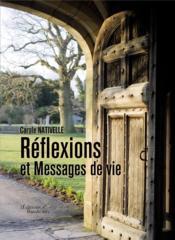Réflexions et messages de vie - Couverture - Format classique