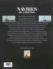 Atlas des navires de legende ; cuirasses, croiseurs et porte-avions du xx siecle - 4ème de couverture - Format classique