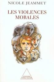 Les violences morales - Intérieur - Format classique