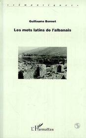 Les Mots Latins De L'Albanais - Intérieur - Format classique