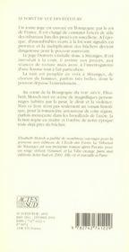 Le Tribunal De Miranges - 4ème de couverture - Format classique