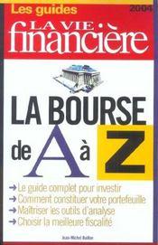 La bourse de a a z - Intérieur - Format classique