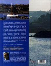 Les mouillages secrets de Bretagne - 4ème de couverture - Format classique