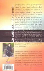 Un Petit Bout De Chemin - 4ème de couverture - Format classique