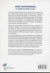 Essais Nucleaires - Fin De Partie - 4ème de couverture - Format classique