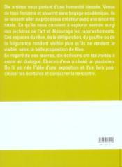La Chambre Du Regard - 4ème de couverture - Format classique