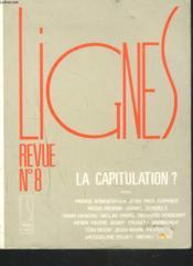 Lignes Revue N 8 - Couverture - Format classique