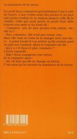 Contes et légendes d'italie - 4ème de couverture - Format classique