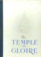 Un Temple De Gloire. - Couverture - Format classique