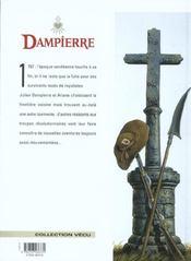 Dampierre t.10 ; l'or de la corporation - 4ème de couverture - Format classique