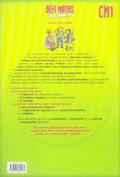 CM1 ; t.2 ; fiches à photocopier - 4ème de couverture - Format classique
