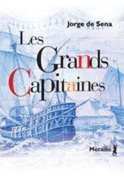 Les grands capitaines - Couverture - Format classique