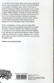Le lard bleu - 4ème de couverture - Format classique