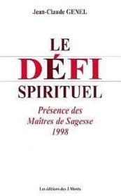 Defi Spirituel - Maitres Sagesse 98 - T.8 - Couverture - Format classique