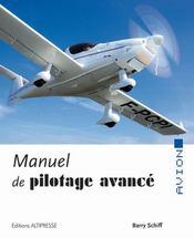 Manuel de pilotage avancé - Intérieur - Format classique