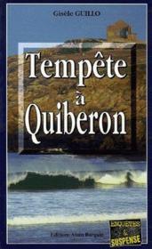 Tempete A Quiberon - Couverture - Format classique