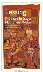 Nathan le sage (nathan der weise)  - Lessing Gotthold Eph - Lessing G E.