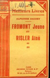 Fromont Jeune Et Risler Aine. Tome 3. Collection : Les Meilleurs Livres N° 156. - Couverture - Format classique