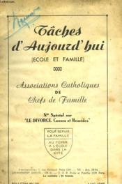 Taches D'Aujourd'Hui - Couverture - Format classique