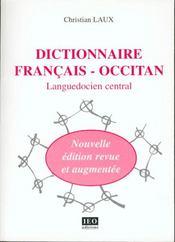 Dictionnaire francais-occitan - languedocien central - Intérieur - Format classique