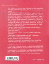 Histoire Du Droit Penal - 4ème de couverture - Format classique