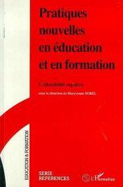 Pratiques Nouvelles En Education Et En Formation - Intérieur - Format classique