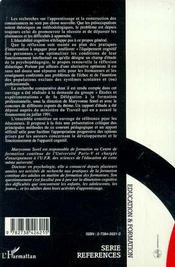 Pratiques Nouvelles En Education Et En Formation - 4ème de couverture - Format classique