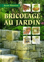 Bricolage au jardin - Couverture - Format classique