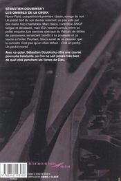 Les Ombres De La Croix - 4ème de couverture - Format classique