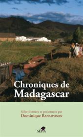 Chroniques de Madagascar - Couverture - Format classique