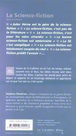 La science-fiction - 4ème de couverture - Format classique