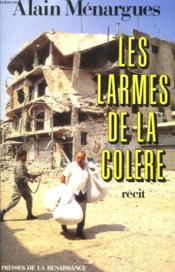 Les Larmes De La Colere - Couverture - Format classique