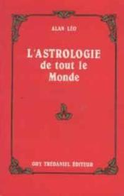 Astrologie De Tout Le Monde - Couverture - Format classique