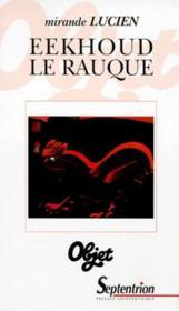 Eekhoud Le Rauque - Couverture - Format classique
