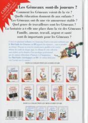 Les mini-guides en bd t.10 ; le mini-guide astro des gémeaux - 4ème de couverture - Format classique