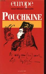 Europe Pouchkine N842 843 - Couverture - Format classique