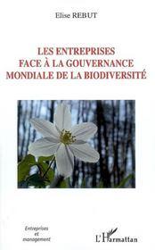 Les Entreprises Face A La Gouvernance Mondiale De La Biodiversite - Intérieur - Format classique