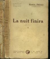 La Nuit Finira. En 2 Tomes. - Couverture - Format classique
