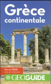 Vente  GEOguide ; Grèce continentale  - Collectif Gallimard