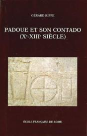 Padoue et son contado (Xe-XIIIe siècle) - Couverture - Format classique