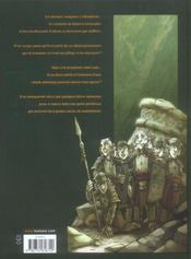Sans Dieu T.2 ; L'Antre De La Connaissance - 4ème de couverture - Format classique