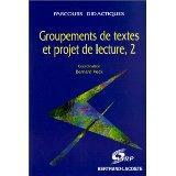 Groupements Textes Et Projet Lect.T2 - Couverture - Format classique