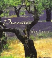 Provence Des 5 Sens - Couverture - Format classique