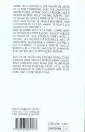 Bois-Brule - 4ème de couverture - Format classique